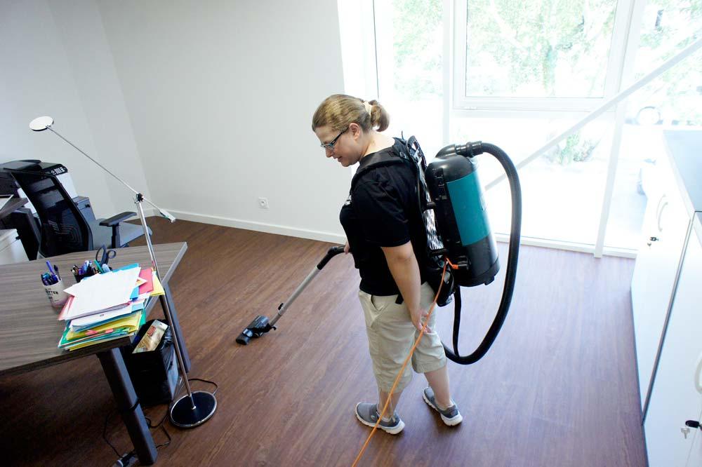 Aspirateur à faible niveau sonore Nim'Net solutions de propreté