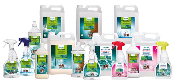 Nos solutions produits Enzypin solutions de nettoyage écologiques Nim'Net